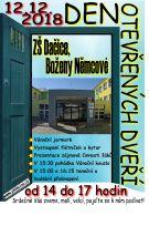 Den otevřených dveří na ZŠ Boženy Němcové 1
